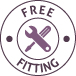 Free fitting logo
